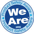 Product Safety Aware Logo