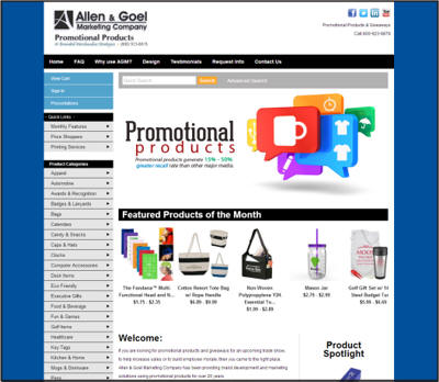AGM Promotional Products Website